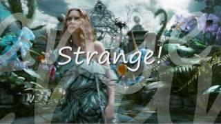 Strange - Tokio Hotel ft Kerli w/ Lyrics (Alice in Wonderland) Full Song HQ