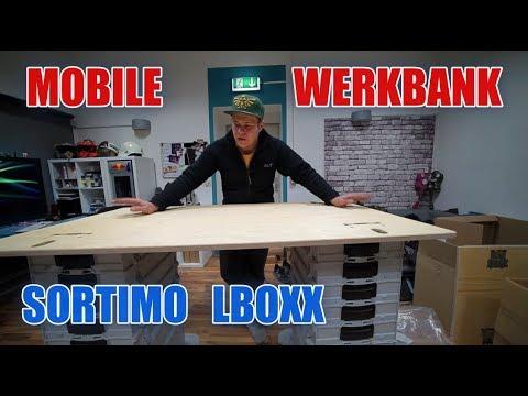 sortimo l boxx system mit werkbank d itsmarvin youtube. Black Bedroom Furniture Sets. Home Design Ideas