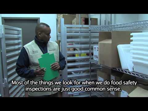 Food Safety Inspection Videos (English)