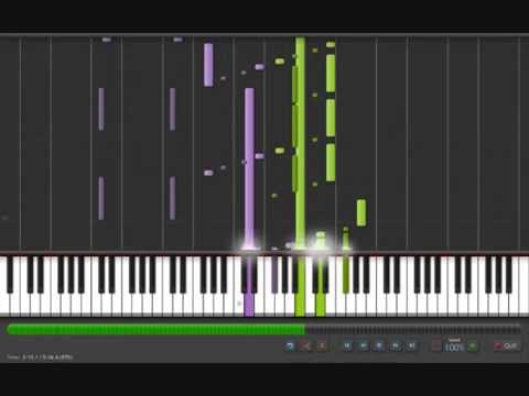 Space Dementia  Piano Tutorial