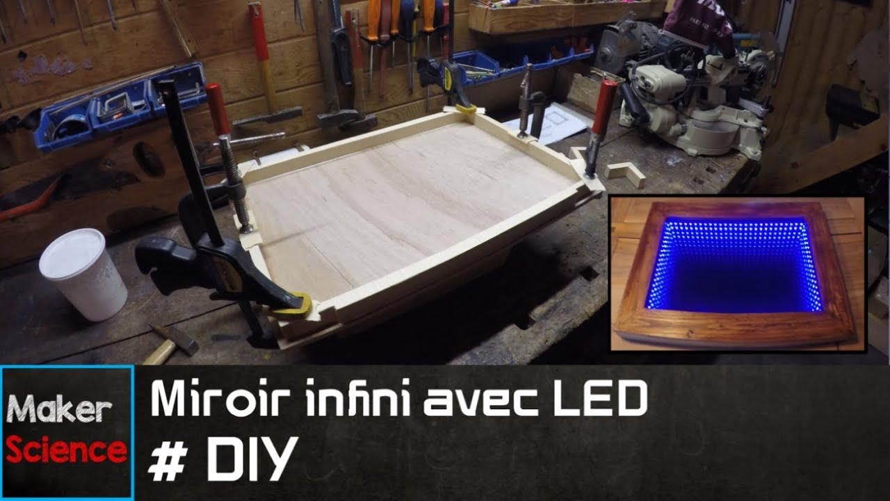 #DIY Miroir infini avec LED