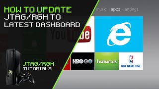 How To Update JTAG/RGH To Latest Dashboard (17511)