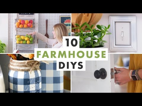 Get the Fixer Upper Look: 10 Farmhouse DIYs - HGTV Handmade
