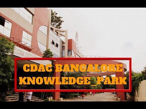 CDAC Bangalore Knowledge Park CAMPUS