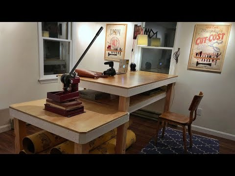 Building a Leather Workbench and Tool Storage (Workshop Build)