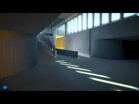 Arna - Jernbaneprosjekt, videoanimasjon fra Norconsult