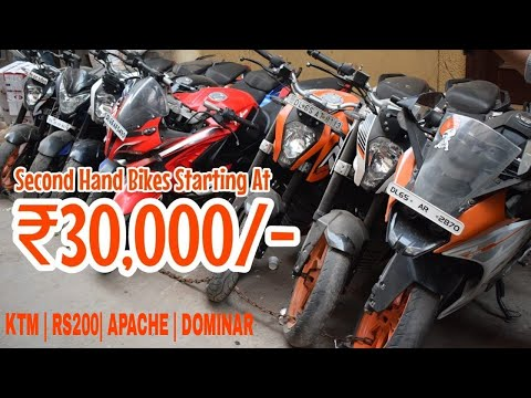 Cheapest Second hand bike Market | Karol Bagh | Ktm bike Market