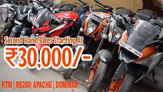 Cheapest Second hand bike Market   Karol Bagh   Ktm bike Market