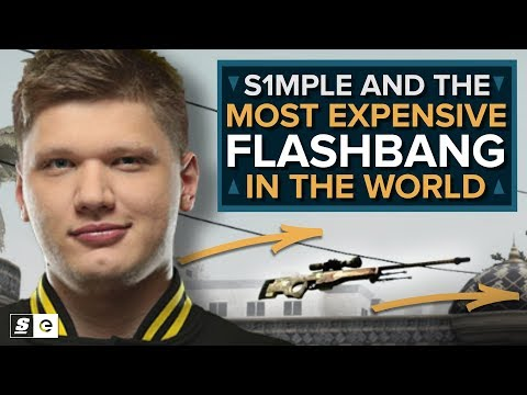 s1mple and the Most Expensive Flashbang in the World