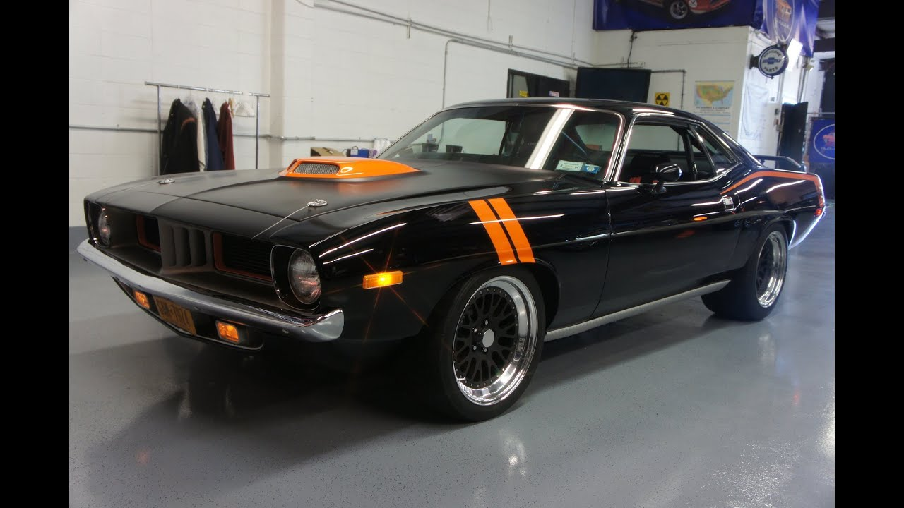 1973 Plymouth Barracuda Pro Touring Resto Mod For Sale Nascar 462
