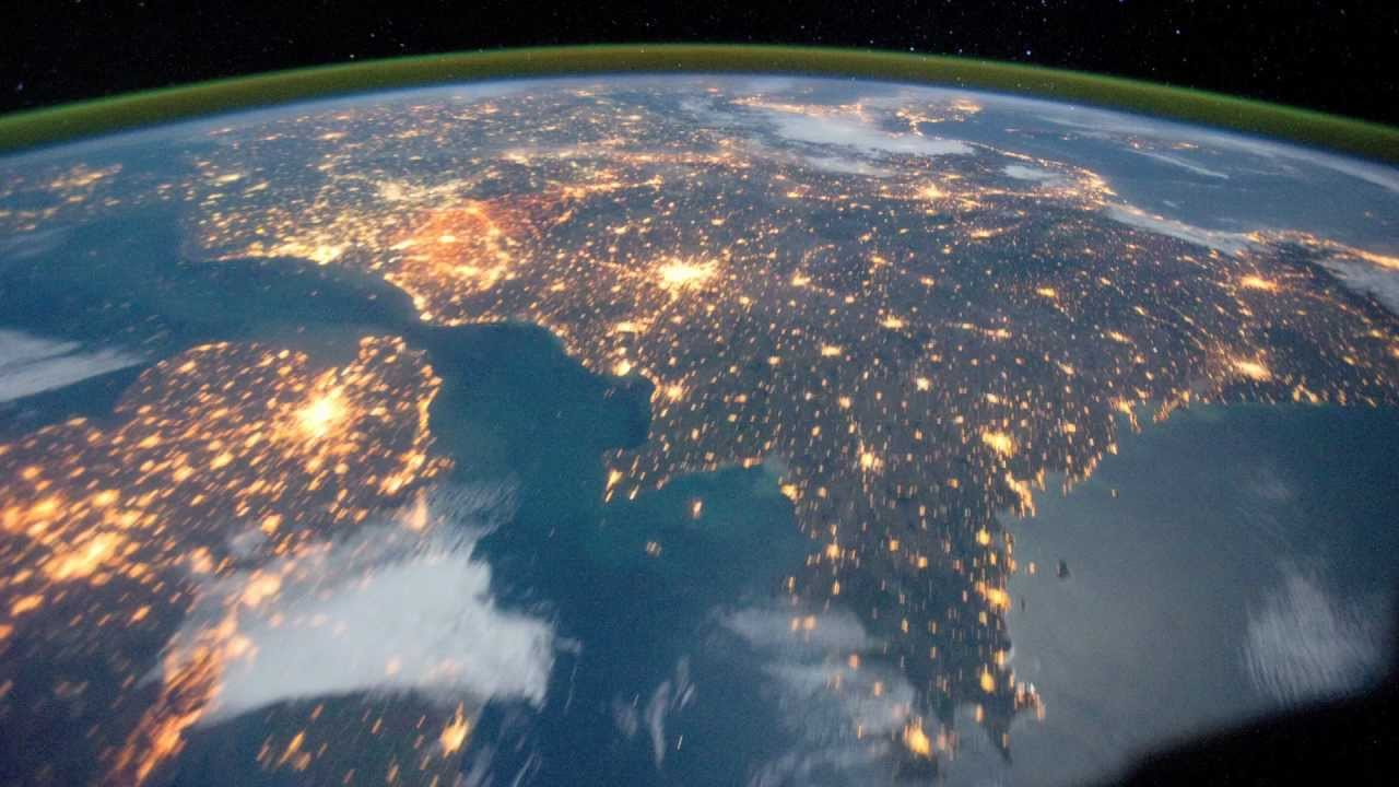 The View from Space - Earth's Countries and Coastlines - YouTube