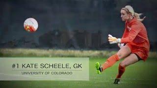 Kate Scheele Highlights - #1 GK University of Colorado