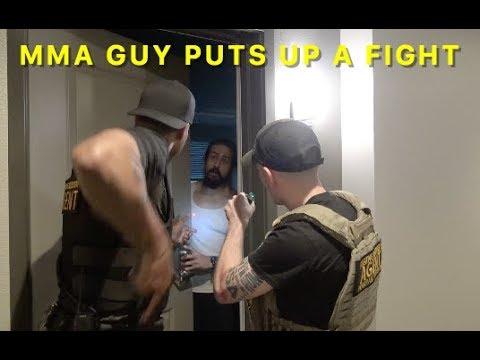 Bounty Hunter D Arrests MMA Fighter