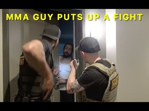 Bounty Hunter D Arrests MMA Fighter