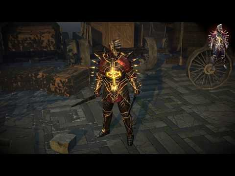 Path of Exile: Fallen Angel Armour Set