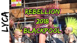 Rebellion 2018 Blackpool