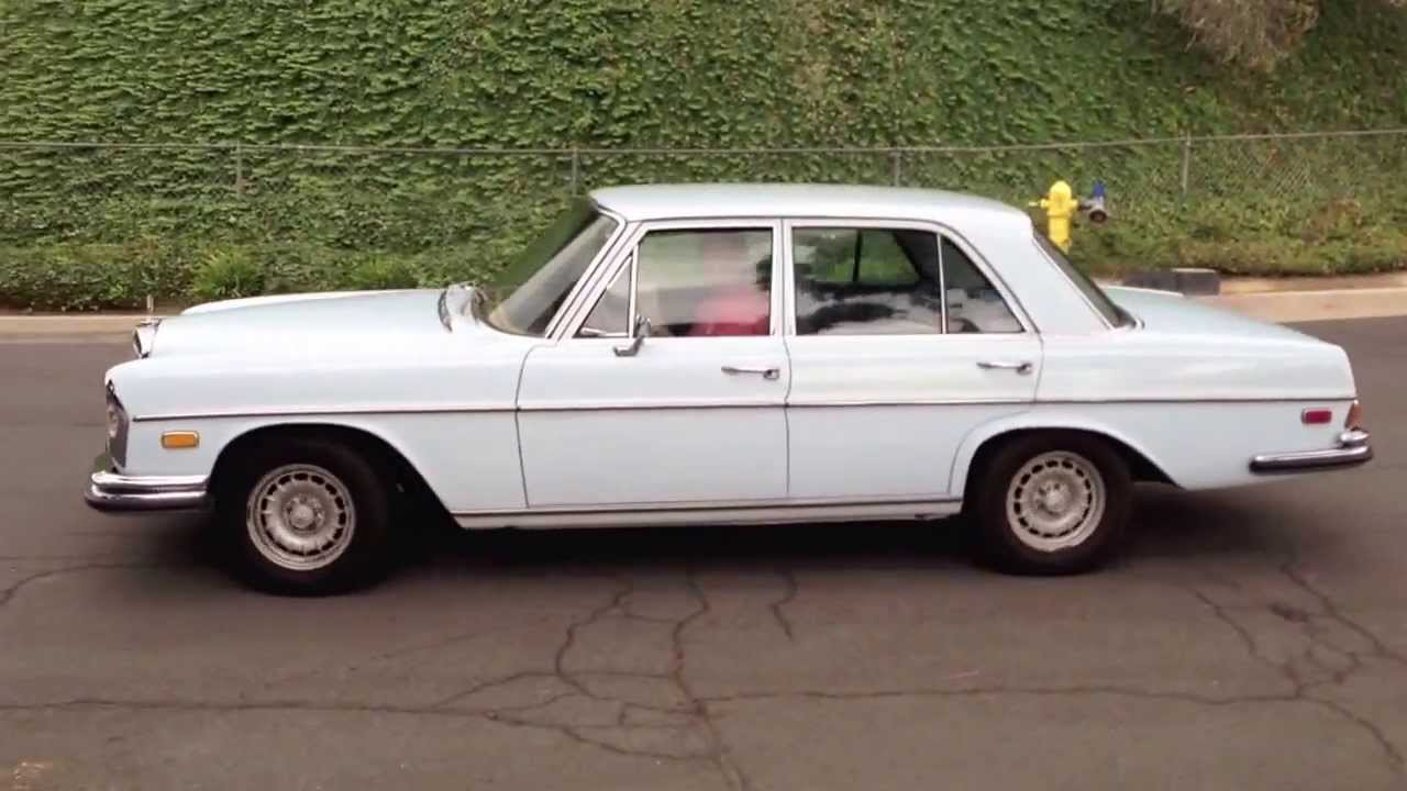 1973 Mercedes Benz 280 Se 4 5 For Sale Youtube