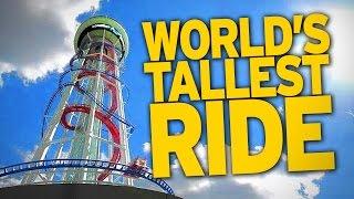 world s new tallest roller coaster is frightening