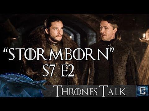 "Game of Thrones Season 7 Episode 2 Review ""Stormborn"" - Collider Thrones Talk"