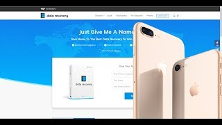 iPhone 8 Giveaway,Wondershare Data Recovery Software Naming Contest
