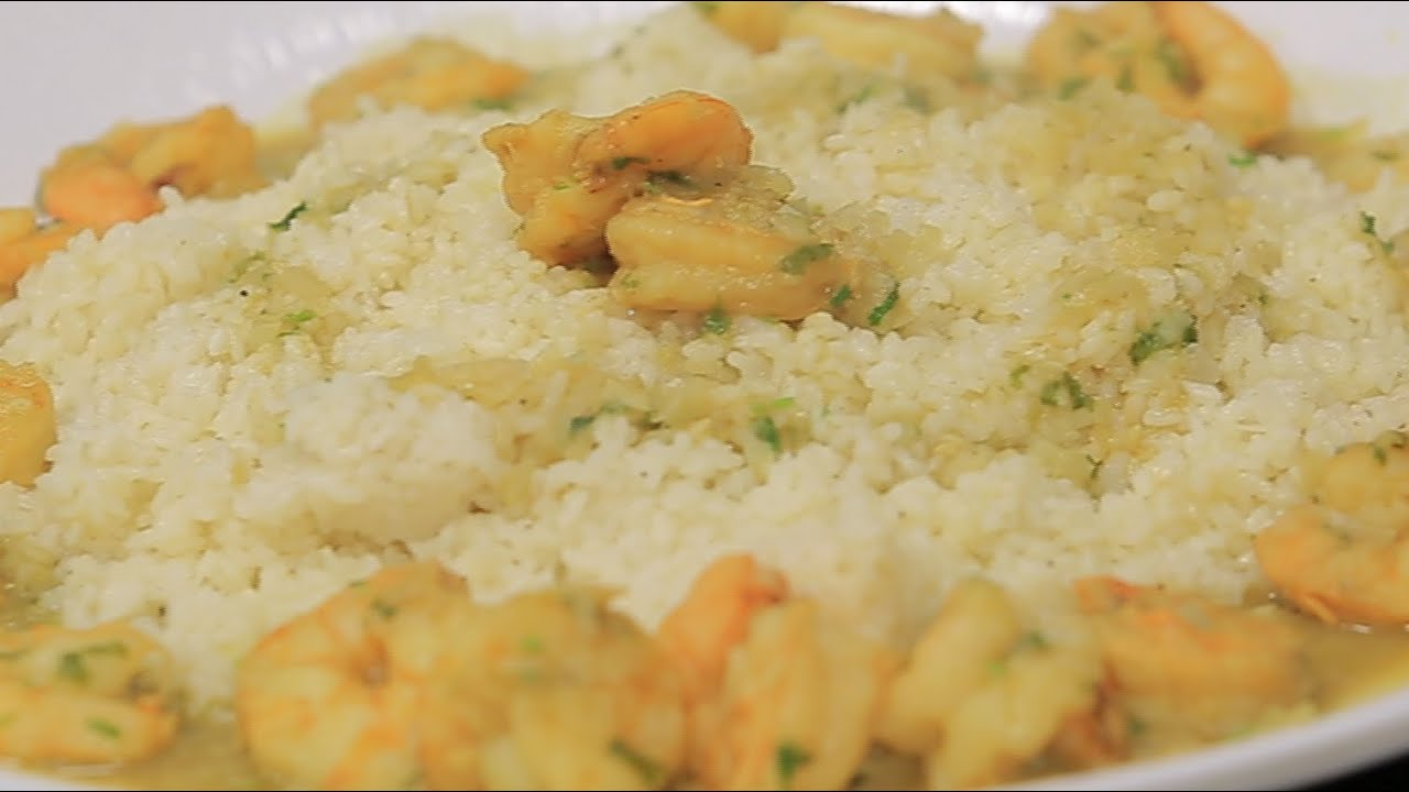 أرز بالجمبري و معجون الكاري : غادة جميل