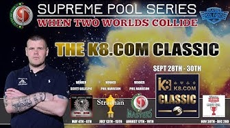 Marc Farnsworth vs Mick Hill - T16 - The Supreme Pool Series - K8.com Classic - Race to 11