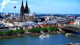 Дальнобойщик-турист снова в деле! Кельн, Германия, красота!