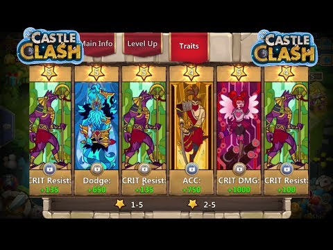 Correctly Augmenting Grimfiend Skull Knight And Minotaur New Traits Is Crazy Castle Clash
