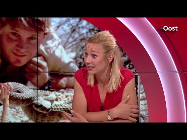 Is Sterrin Smalbrugge de nieuwe 'Crocodile Hunter'?