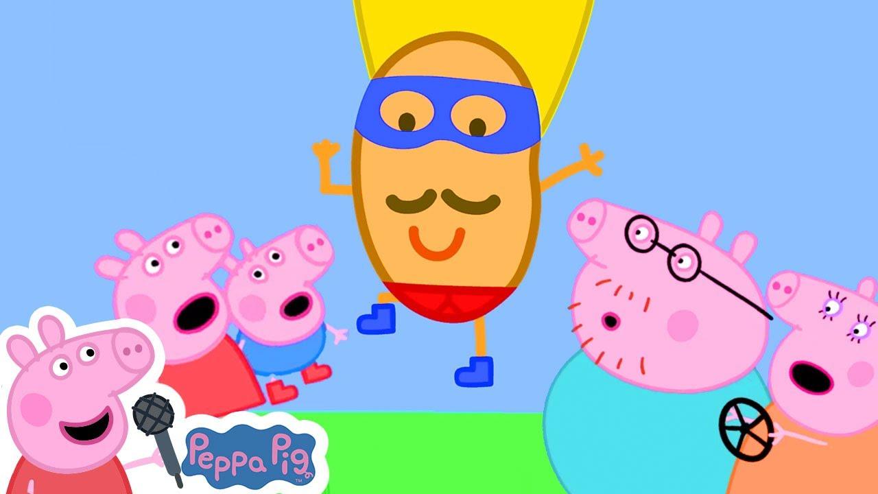 Super Champion Potato Song | Peppa Pig Nursery Rhymes & Kids Songs
