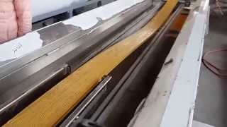 Columbia Customer---pe Wpc Co Extrusion Decking Production Machine
