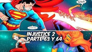 """INJUSTICE 2 """"UNA TRISTE MUERTE, LINTERNAS EN GUERRA"""" Parte 63 y 64 @SoyComicsTj"""