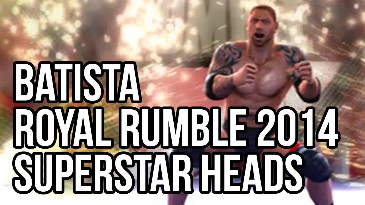 WWE 2K14 - Batista Roy...