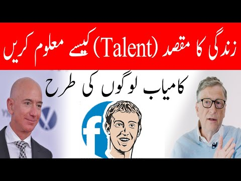 How To Identify Your Talent - Hamza Javed