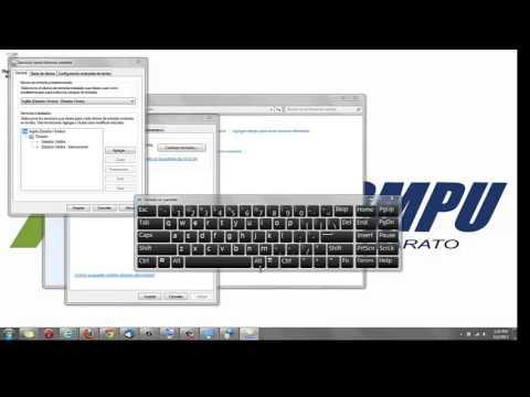 Como configurar la letra ñ y tilde en teclado americano Windows 7