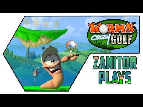 Zanitor Plays - Worms Crazy Golf |