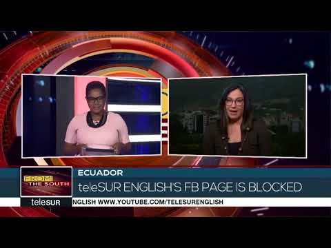 Facebook Removed the TeleSUR English Page