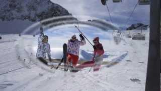 Активный отдых в Австрии 2013 года. Нойштифт (Штубайталь) (Фотофильм)(Отпуск на тихих склонах Австрии. Не самое популярное место, но катание было неплохим. А когда была плохая..., 2013-03-17T23:24:53.000Z)