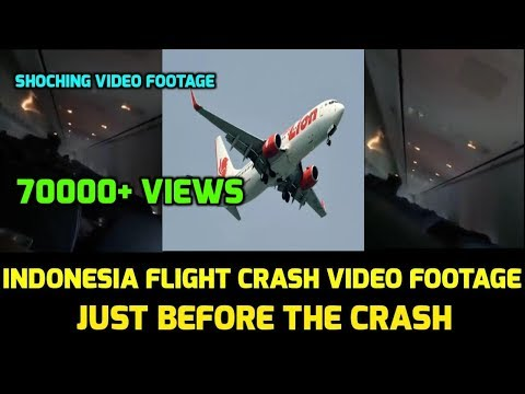 Indonesia Flight Crash Live Video Footage | Just Before The Crash | Shocking Video | RIP