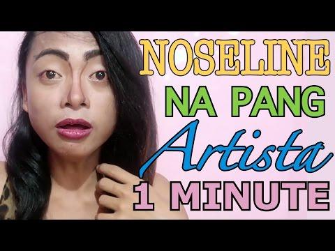 NOSE LINE PATUNGONG LANGIT (Panalo To!) | MEMA MAKEUP #3