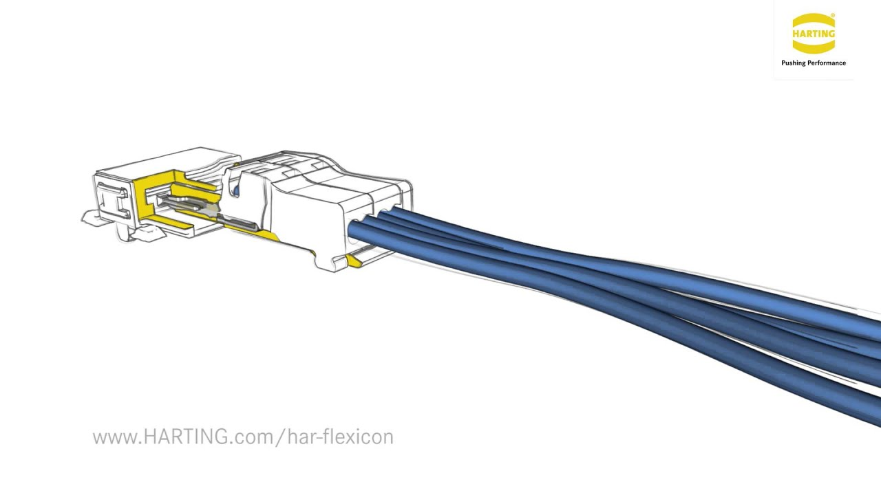 HARTING har-flexicon® 1,27 mm on