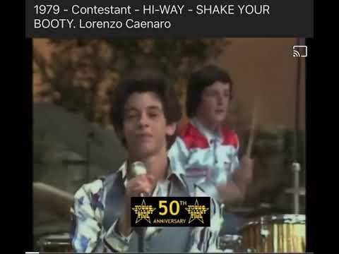 Shake Your Booty Young Talent Time 1979 Youtube