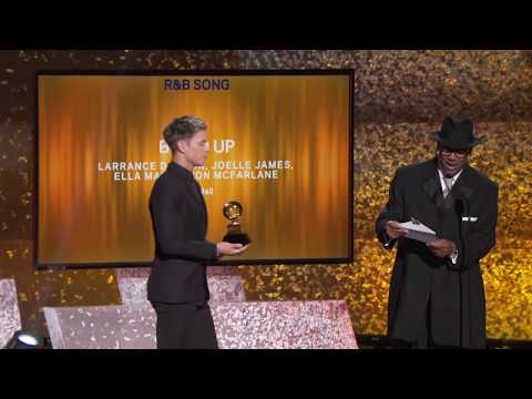 Bood Up Wins Best R&B Song | 2019 GRAMMYs Acceptance Speech