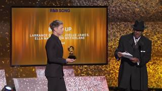 Boo'd Up Wins Best R&B Song | 2019 GRAMMYs Acceptance Speech