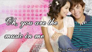 Watch Vanessa Hudgens You Are The Music In Me video