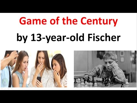 13-year-old Fischer plays the GREATEST chess game of all time!