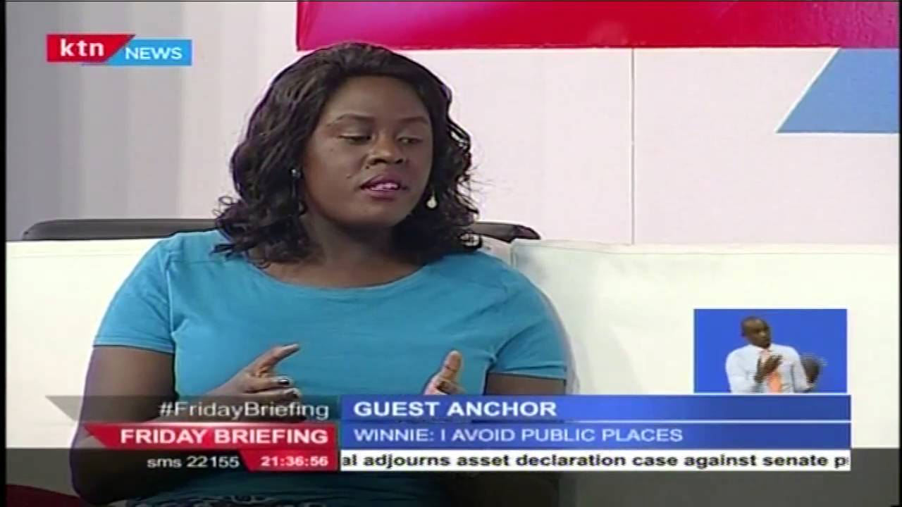 Guest Anchor: Raila Odinga's daughter Winnie Odinga