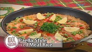 Idol sa Kusina recipe: Paella-Style Mixed Meat Rice