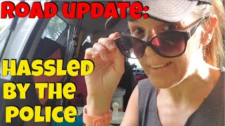 Update from the Road: Hassled By the Police While Car Camping in Missouri