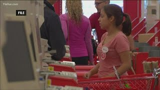 Glitch causes lengthy outage at Target checkout lines